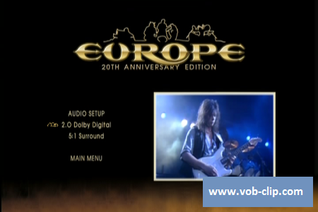 Europe - The Final Countdown Tour (20th Anniversary Edition) (2006) (DVD9)