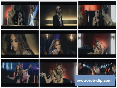 Jennifer Lopez Feat Pitbull - On The Floor (2011) (VOB)