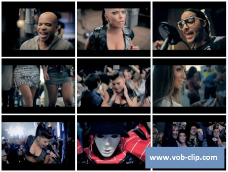 David Guetta And Chris Wills Feat Fergie And LMFAO - Gettin Over You (Extended Version) (2010) (VOB)