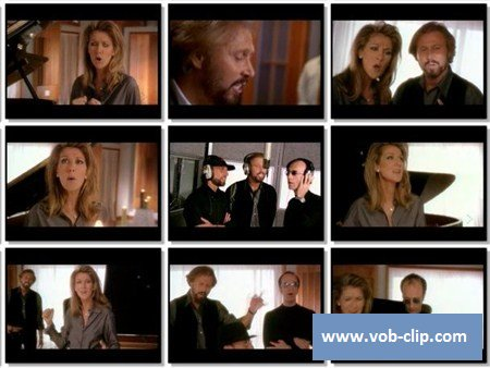 Celine Dion And The Bee Gees - Immortality (1998) (VOB)