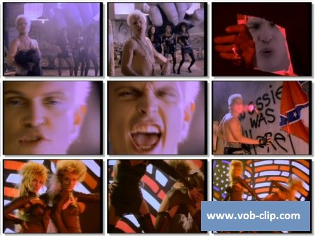 Billy Idol - Hot In The City (Club Version) (1988) (VOB)