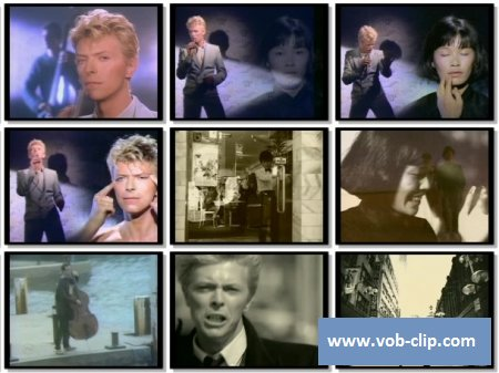 David Bowie - China Girl (1983) (VOB)