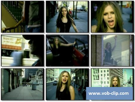 Avril Lavigne - Dont Tell Me (2004) (VOB)