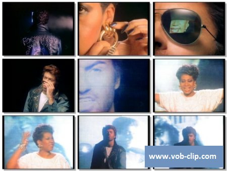 Aretha Franklin & George Michael - I Knew You Were Waiting ( For Me) (1987) (VOB)