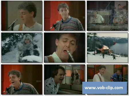 Paul McCartney - Spies Like Us (1985) (VOB)