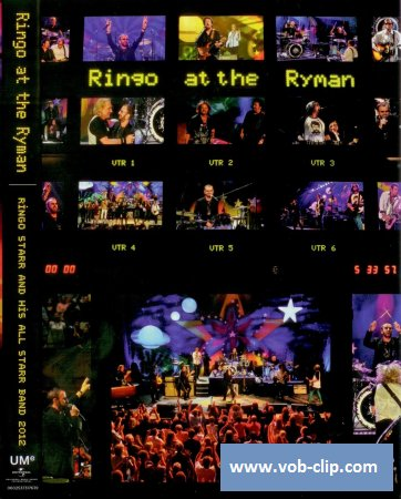 Ringo Starr And His All Starr Band - Ringo At The Ryman (2012) (DVD9)