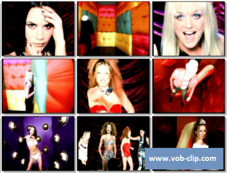 Spice Girls - Who Do You Think You Are (1997) (VOB)