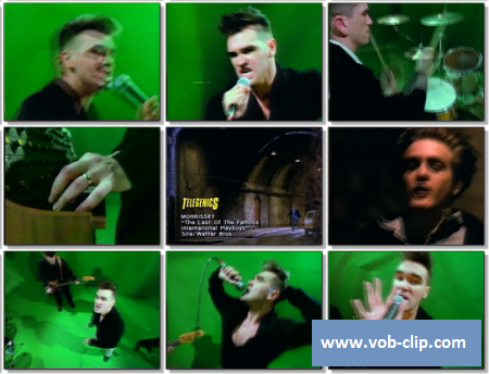 Morrissey - The Last Of The Famous International Playboys (1989) (VOB)