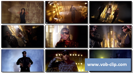 Tyga feat. Wale Fabolous Young Jeezy Meek Mill & TI - Rack City (Remix) (2012) (MOV)