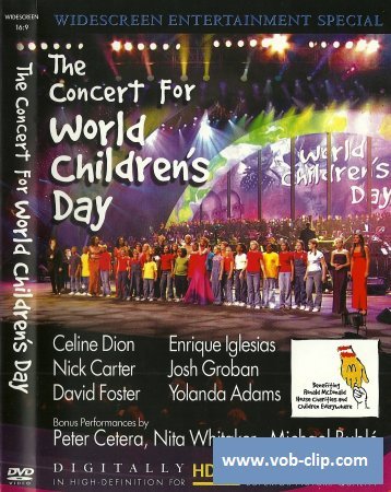 David Foster - The Concert For World Children's Day (2002) (DVD9)