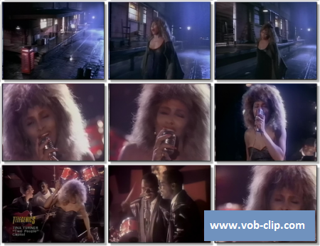 Tina Turner - Two People (1986) (VOB)