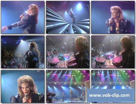 C.C. Catch - Heaven And Hell (From Peter's Pop Show) (1986) (VOB)