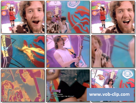 Spin Doctors - Little Miss Can't Be Wrong (1992) (VOB)