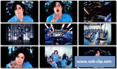 Michael Jackson - They Don't Care About Us (Prison Version) (1996) (VOB)