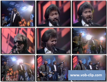 Bee Gees - You Win Again (From Top Of The Pops) (1987) (VOB)