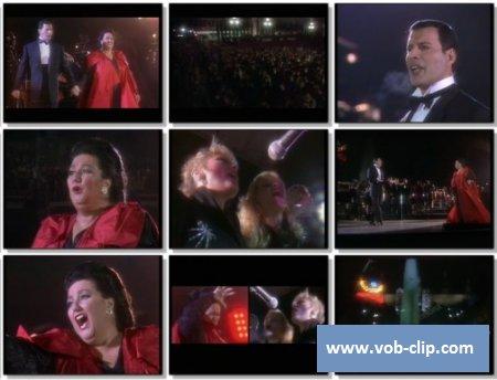 Freddie Mercury Feat Montsserat Caballe - The Golden Boy (Live) (1988) (VOB)