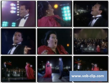 Freddie Mercury Feat Montsserat Caballe - How Can I Go On (Live) (1988) (VOB)