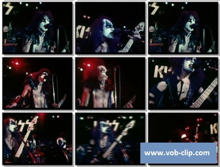 Kiss - C'mon And Love Me (1975) (VOB)