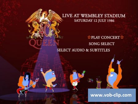 Queen - Live At Wembley Stadium 1986 (2011) (2xDVD9)