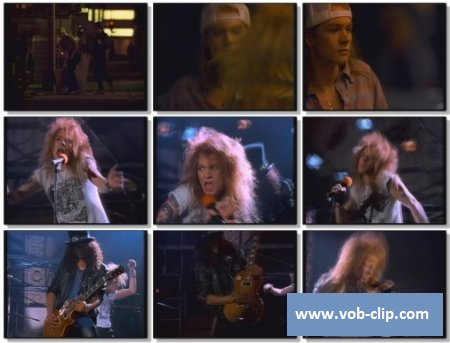 Guns'N'Roses - Welcome To The Jungle (1989) (VOB)
