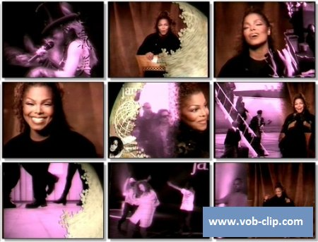 Janet Jackson - Because Of Love (1994) (VOB)