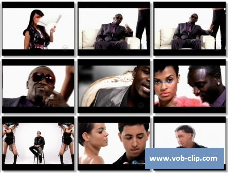 Akon feat. Colby O'Donis & Kardinal Offishall - Beautiful (2009) (VOB)