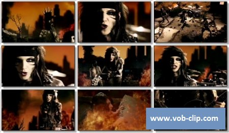 Black Veil Brides - Fallen Angels (2011) (VOB)