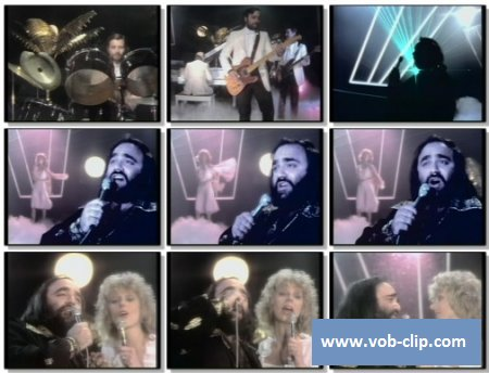 Demis Roussos And Florence Warner - Lost In Love (1980) (VOB)