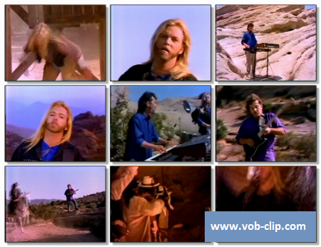 Gregg Allman Band - Can't Keep Rinning (1987) (VOB)