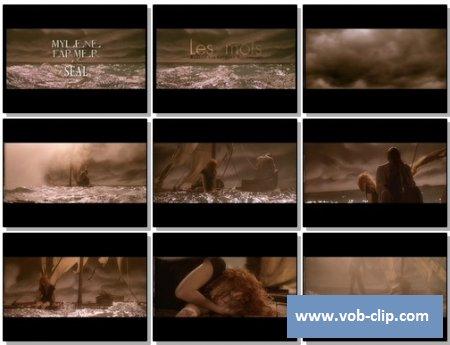 Mylene Farmer Feat Seal - Les Mots (2001) (VOB)