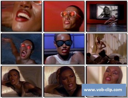 Grace Jones - Love On Top Of Love (Killer Kiss) (1989) (VOB)
