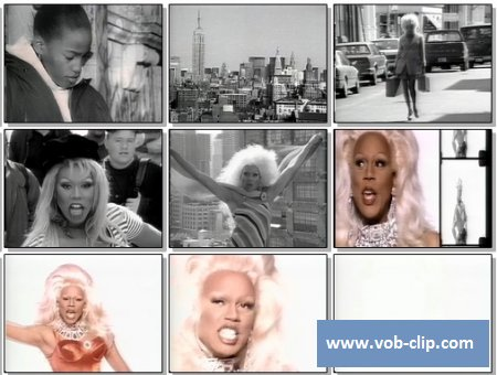 RuPaul - Supermodel (You Better Work) (12 Inch Mix) (1993) (VOB)
