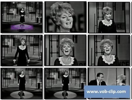 Petula Clark - Downtown (From The Ed Sullivan Show) (1965) (VOB)