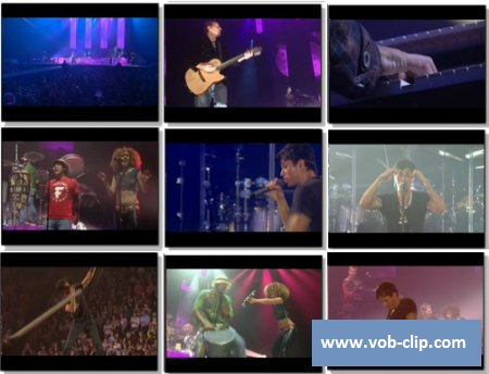 Enrique Iglesias - Be With You (Live In Belfast) (2007) (VOB)