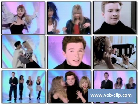 Rick Astley - Together Forever (Extended Mix) (1988) (VOB)