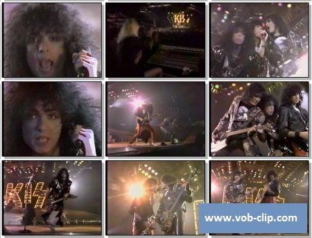 Kiss - Turn Of The Night (1987) (VOB)