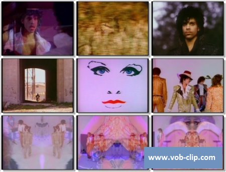 Prince And The Revolution - When Doves Cry (Old Skool Version) (1984) (VOB)