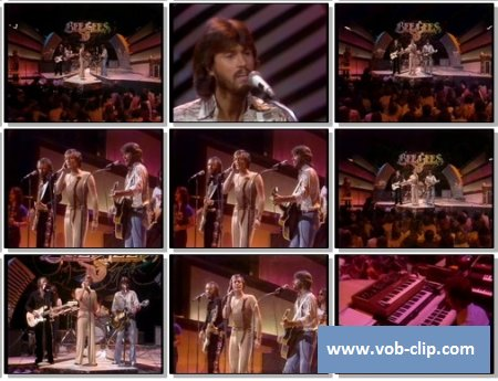 Bee Gees - Nights On Broadway (From The Midnight Special) (1975) (VOB)