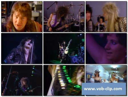Cinderella - Somebody Save Me (Rockamerica Version) (1987) (VOB)