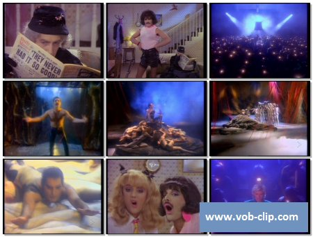 Queen - I Want To Break Free (MixMash Version) (1984) (VOB)