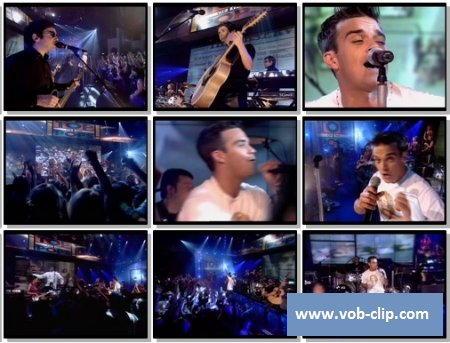 Robbie Williams - Supreme (From Top Of The Pops) (2000) (VOB)