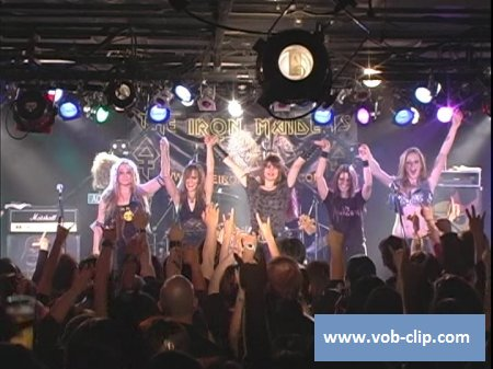 Iron Maidens - Metal Gathering Tour Live in Japan (2010) (2xDVD5)