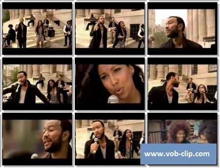 John Legend And The Roots Feat. Melanie Fiona And Common - Wake Up Everybody (2010) (VOB)
