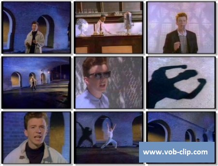 Rick Astley - Never Gonna Give You Up (1987) (VOB)