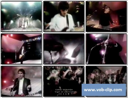 Chris De Burgh - High On Emotion (1984) (VOB)