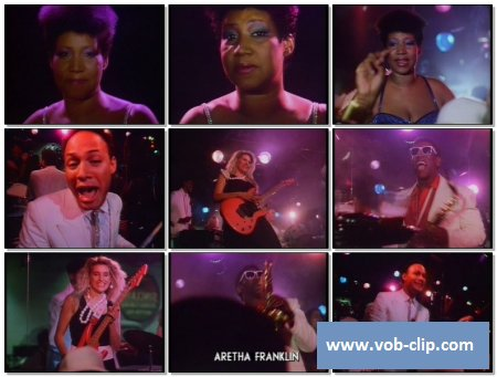 Aretha Franklin - Freeway Of Love (Videopool UK Version) (1985) (VOB)