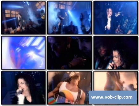 Michael Jackson Feat Slash (Guns N Roses) - Give In To Me (1993) (VOB)