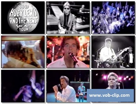 Huey Lewis And The News - Small World (1988) (VOB)