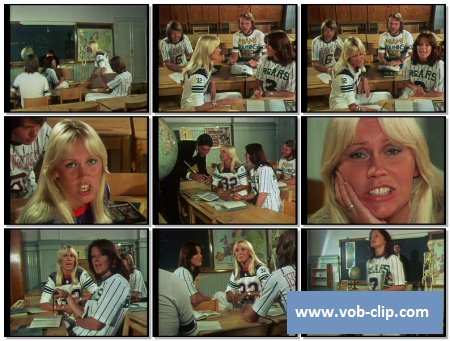 ABBA - When I Kissed The Teacher (1976) (VOB)