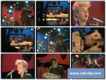 Stray Cats - Runaway Boys (From Top Pop) (1980) (VOB)